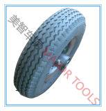 2.50-4 Rotella di gomma pneumatica del reticolo del diamante