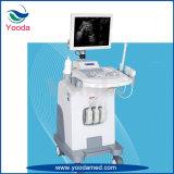 Type scanner de chariot médical et d'hôpital à approvisionnement d'échographie-Doppler de couleur