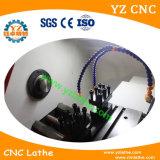 Fábrica de hecho en máquina horizontal del centro de torno del CNC de China