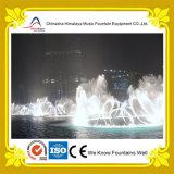 Fonte de água esplêndida da dança da fonte da música do centro de cidade