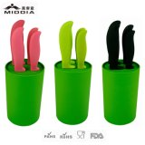 Ceramische Kitchenware voor 5PCS Knife Set met Nonslip Block