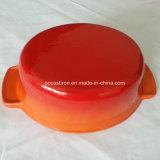 中国からの楕円形のエナメルの鋳鉄のカセロールのダッチオーブンの製造業者