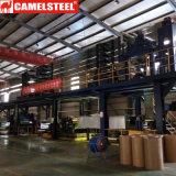 Цинк покрыл лист строительных материалов гальванизированный металлом стальной