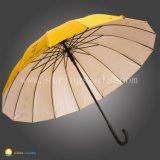 L'automobile chaude de vente ouvrent le parapluie deux fois