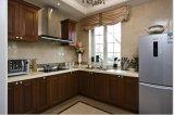 Gabinete de cozinha de madeira Yb-1706006 da cereja 2017 moderna nova