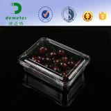 Imballaggio di plastica del contenitore della copertura superiore del cestello della frutta delle fragole di uso di industria dei prodotti freschi
