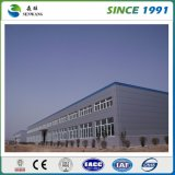 Grande construction préfabriquée de structure métallique d'atelier d'entrepôt