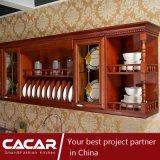 ピッツバーグのヨーロッパの標準的で赤いチェリーの木製のラッカー食器棚(CA14-06)