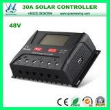 contrôleur solaire de charge de 30A 12/24/36/48V PWM (QWP-SR-HP4830A)