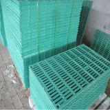 L'utilisation de ferme de porc/moutons/chèvre parquette les étages en plastique de lamelles de porc