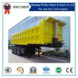 De 3 árboles de vaciado del carro acoplado semi para el transporte de cargo de la tonelada 40-100