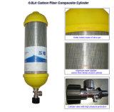 3L Kohlenstoffstahl-Gasmaske Positiv-Druck feuerbekämpfender Luft-Respirator