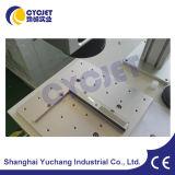금속 격판덮개 로고 Laser 코딩 인쇄 기계 기계