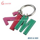Beautiful Flower Wholesale Cheap Leather Key Ring