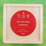 [ديي] عيد ميلاد المسيح [سري] [ستمب-ووودن] مطّاطة دمج صندوق