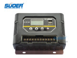 Suoer Charge Controller 12V 60A Solar Charge Controller PWM Solar Smart Controller com Highquality (ST-W1260)