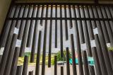 2016年の特に設計されていた木製のプラスチック合成の装飾的な木ずり
