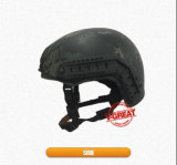 Cor rápida do preto do capacete com processo de transferência da água