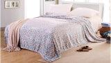 Cobertor coral impresso Sr-B170219-29 impresso macio super do velo do cobertor da flanela
