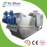 Machine inoxidable de filtre-presse pour des eaux d'égout d'hôpital