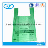 卸し売り安い生物分解性のカスタマイズされたTシャツのプラスチックショッピング・バッグ