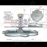 화강암 물 Metrix 대리석 돌 Carrara 샘 Mf 569