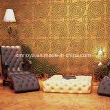 Нутряная панель стены PVC 3D MDF акустическая Textured для украшения
