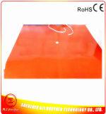 подогреватель силиконовой резины подогревателя принтера 3D (отверстия отверстия 1*38.1mm 1524*1524*1.5mm 480V 7200W 2*50.8mm)