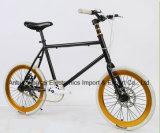20 بوصة مصغّرة ثابت ترس درّاجة, غنيّ بالألوان حافّة درّاجة ([يك-فغ-012])