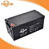 Batería solar de plomo sellada de la batería 12V 200ah de la batería recargable