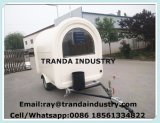 De nieuwe Aanhangwagen van de Concessie van de Voorwaarde en van de Toepassing van Spaanders, de Aanhangwagen van het Voedsel