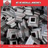 錬鉄の鍛造材鋼鉄カラー