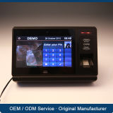 Sistema biométrico de la atención del tiempo de Ethernet RFID con el lector de tarjetas del software NFC EMV de la nómina de pago