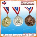 Medaille van de Sporten van het metaal 3D voor het Spel van het Voetbal/Concurrentie van de Voetbal