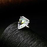 De nieuwe Juwelen van het Kristal van het Geometrische Ontwerp van de Ring van de Legering Halfedelstenen Ingelegde Vastgestelde voor Vrouwen