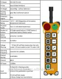 Электрический регулятор дистанционного управления F24-10s тали с цепью беспроволочный промышленный Radio дистанционный