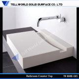 Moderner Europäer-exklusive feste Oberflächenbadezimmer-Wanne, Wäsche-Bassin-Serie