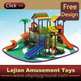 Campo de jogos plástico ao ar livre do parque de diversões interessante do CE (12083A)
