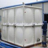 GRP a moulé le réservoir d'eau assemblé par panneau moulé par FRP de réservoir d'eau