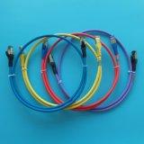 Câble de câble LAN d'OEM UTP/F-UTP CAT6 Snagless/de cordon connexion de gestion de réseau