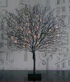 La Navidad e iluminación del árbol coralino de la decoración LED