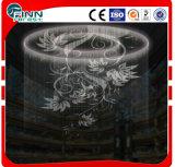 Fontaine de dessin de rideau en eau de Digitals de décoration d'hôtel