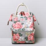 Sac floral de sac à dos de toile de PVC de deux configurations de tailles (99239-2)