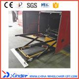 Elevatore di sedia a rotelle di Xinder Wl-Uvl-1600II-H per la vettura in bagagli
