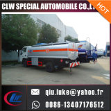 5000litersアルミ合金の石油タンカーのトラック