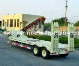 Semi-remorque à toit lourd, remorque à bas prix, remorque à lit basique à 2/3/4 essieux