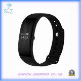 Bracelet sec androïde de bracelet de bande du téléphone mobile V66 d'IOS avec le traqueur de forme physique d'activité de moniteur du rythme cardiaque