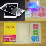 Resistencia al protector de la pantalla del vidrio de laminado del Azul-Rayo para el iPhone 7