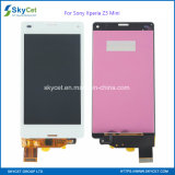 Цифрователь экранов касания индикации LCD для Сони Xperia Z3 миниого