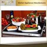 Verwarmende Dienblad van het Voedsel van de Plaat S-5001s van het Voedsel van de Plaat van de Goedkeuring van Ce RoHS het Borstel Gebeëindigde Hoogste Verwarmende